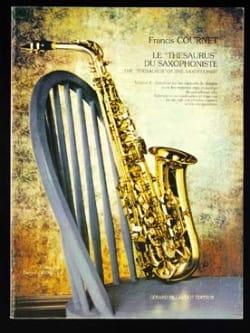 Francis Cournet - Le Thesaurus du Saxophoniste Volume 2 - Partition - di-arezzo.fr