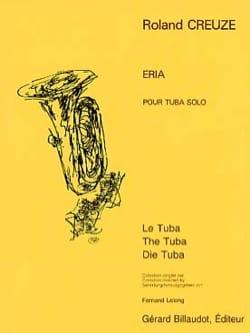 Roland Creuze - Eria - Sheet Music - di-arezzo.co.uk