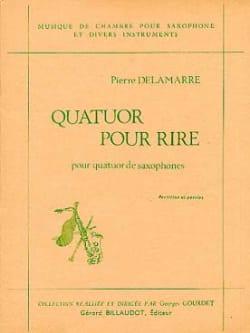 Quatuor Pour Rire - Pierre Delamare - Partition - laflutedepan.com