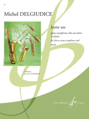 Jeune Sax Michel Del Giudice Partition Saxophone - laflutedepan