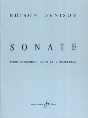 Edison Denisov - Sonate - Partition - di-arezzo.fr