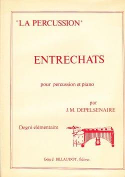 Entrechats Jean-Marie Depelsenaire Partition laflutedepan