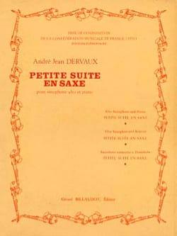 André Jean Dervaux - Petite Suite En Saxe - Partition - di-arezzo.fr