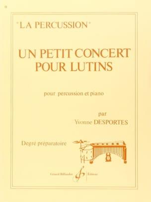 Yvonne Desportes - Un Petit Concert Pour Lutins - Partition - di-arezzo.fr