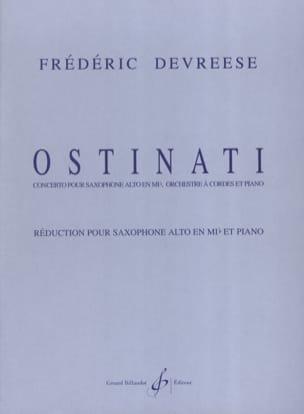 Frédéric Devreese - Ostinati - Partition - di-arezzo.fr