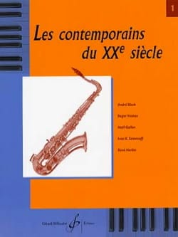 - Les Contemporains du 20e Siècle Volume 1 - Partition - di-arezzo.fr
