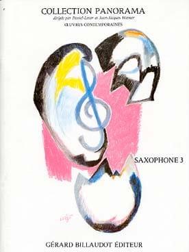Panorama Saxophone 3 - Partition - Saxophone - laflutedepan.com