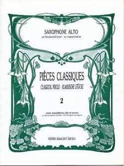 Pièces Classiques Volume 2 - Partition - di-arezzo.fr