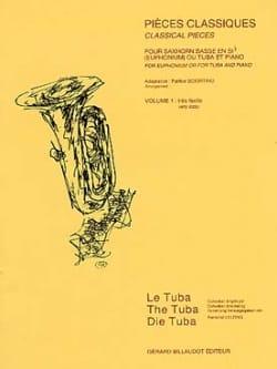 Pièces Classiques Volume 1 Partition Tuba - laflutedepan