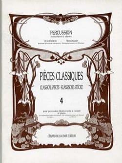 Pièces Classiques Volume 4 - Partition - di-arezzo.fr
