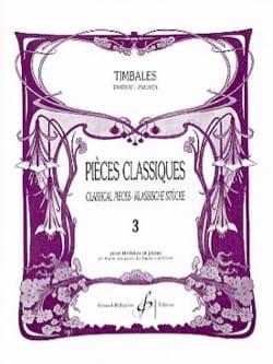 Pièces Classiques Volume 3 - Partition - laflutedepan.com
