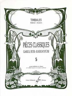 - Pièces Classiques Volume 5 - Partition - di-arezzo.fr