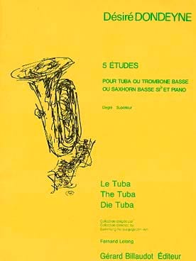 Désiré Dondeyne - 5 Studies - Sheet Music - di-arezzo.co.uk