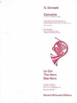 Gaetano Donizetti - Concerto - Partition - di-arezzo.fr