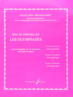 Dorsselaer Willy Van - Olympiads - Sheet Music - di-arezzo.co.uk