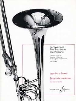 Essais De Trombone - Jean-Pierre Drouet - Partition - laflutedepan.com