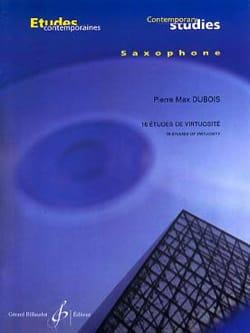 Pierre-Max Dubois - 16 Etudes de Virtuosité - Partition - di-arezzo.fr