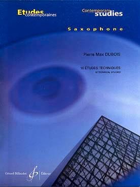 16 Etudes Techniques - Pierre-Max Dubois - laflutedepan.com