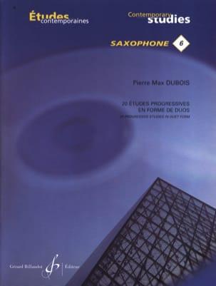 20 Etudes progressives en forme de duos Pierre-Max Dubois laflutedepan