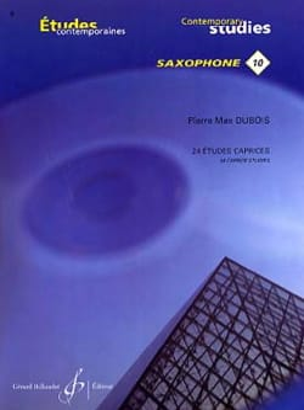 Pierre-Max Dubois - 24 Etudes Caprices Volume 1 - Partition - di-arezzo.fr