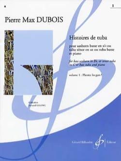 Histoires de Tuba Pierre-Max Dubois Partition Tuba - laflutedepan