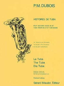 Pierre-Max Dubois - Tuba Tales Volume 3 - The Big Cinema - Sheet Music - di-arezzo.co.uk