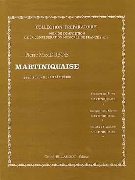 Martiniquaise - Pierre-Max Dubois - Partition - laflutedepan.com
