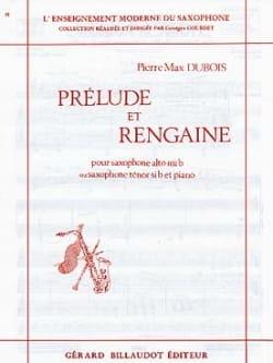 Pierre-Max Dubois - Prélude Et Rengaine - Partition - di-arezzo.fr