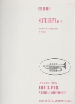 Suite Brève En Ut - Pierre-Max Dubois - Partition - laflutedepan.com