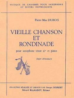 Vieille Chanson Et Rondinade - Pierre-Max Dubois - laflutedepan.com
