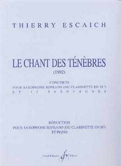 Thierry Escaich - The song of darkness - Sheet Music - di-arezzo.co.uk