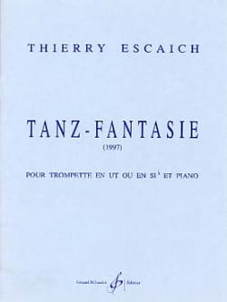 Tanz-Fantasie Thierry Escaich Partition Trompette - laflutedepan