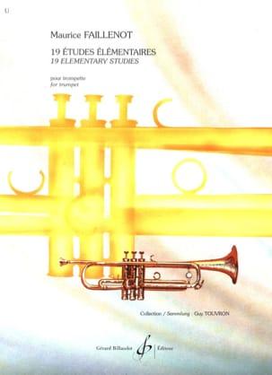 Maurice Faillenot - 19 Elementary Studies - Sheet Music - di-arezzo.co.uk