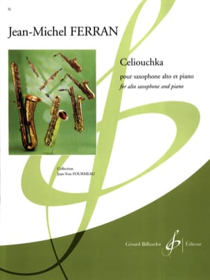 Jean-Michel Ferran - Celiouchka - Partition - di-arezzo.fr