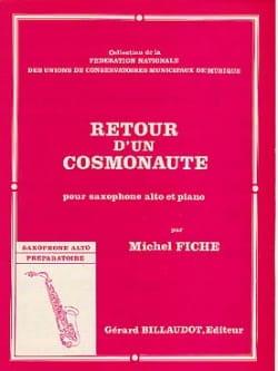 Retour d'un cosmonaute - Michel Fiche - Partition - laflutedepan.com