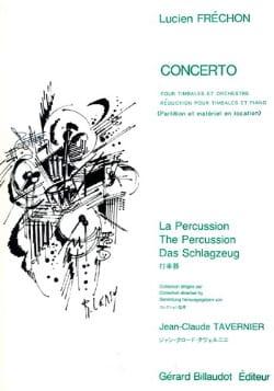 Concerto Pour Timbales - Lucien Fréchon - Partition - laflutedepan.com