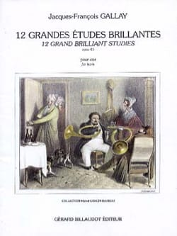 Jacques-François Gallay - 12 Great Bright Studies - Opus 43 - Sheet Music - di-arezzo.co.uk