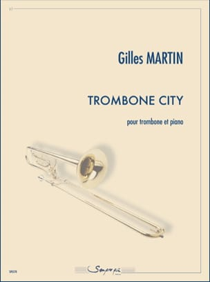 Gilles Martin - City Trombone - Sheet Music - di-arezzo.com
