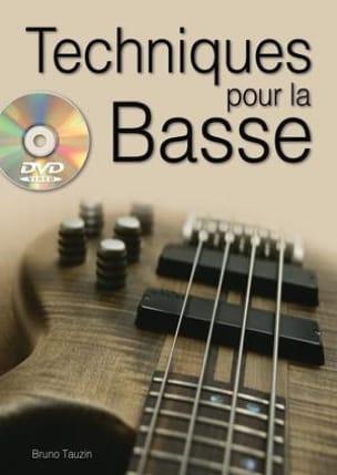 Bruno Tauzin - Techniques for bass - Sheet Music - di-arezzo.com