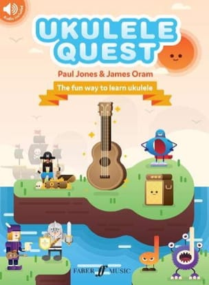 Paul Jones & James Oram Ukulele Quest Partition laflutedepan