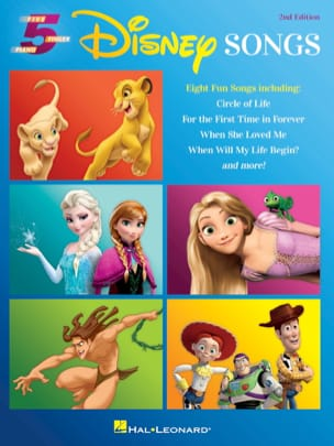 DISNEY - Five Finger Piano Songbook - Disney Songs - 2nd Edition - Partition - di-arezzo.fr
