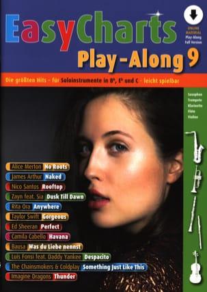 Easy Charts Play-Along - Volume 9 - Partition - laflutedepan.com