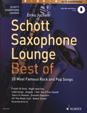 Schott Saxophone Lounge - BEST OF Partition Saxophone - laflutedepan