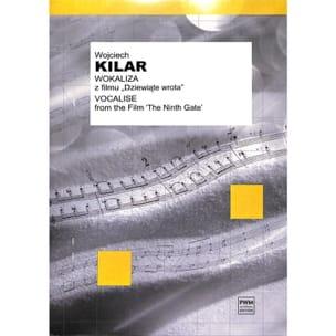 Kilar Wojciech - Vocalise - Music of the Ninth Gate Movie - Sheet Music - di-arezzo.co.uk