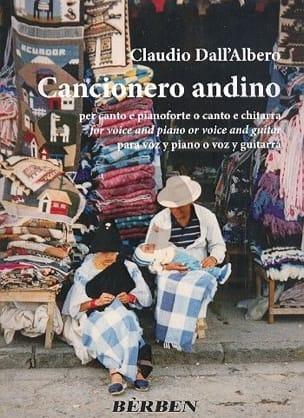 Claudio Dall'Albero - Cancionero andino - Partitura - di-arezzo.es