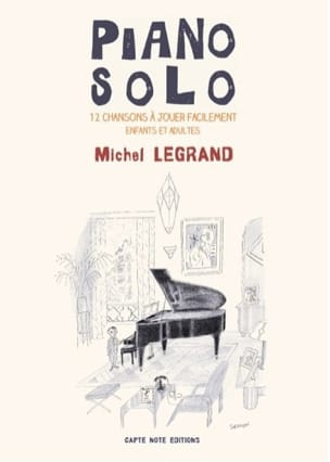 Piano Solo - Michel Legrand Michel Legrand Partition laflutedepan