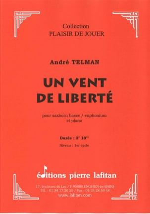 Un Vent de Liberté André Telman Partition Tuba - laflutedepan