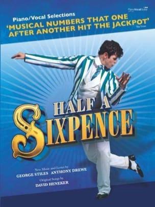 Drewe Anthony / Heneker David / Stiles George - Half A Sixpence - Musical Comedy - Sheet Music - di-arezzo.co.uk
