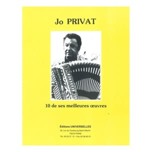 Jo Privat - 10 of his best works - Sheet Music - di-arezzo.co.uk