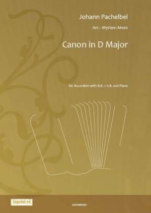 Johann Pachelbel - Canon in D Major - Sheet Music - di-arezzo.co.uk